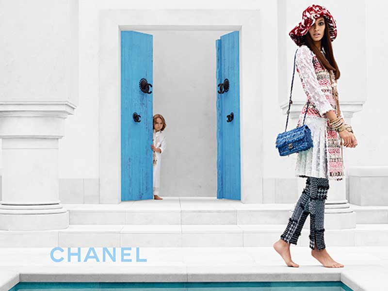 Chanel Cruise 2015 by Karl Lagerfeld