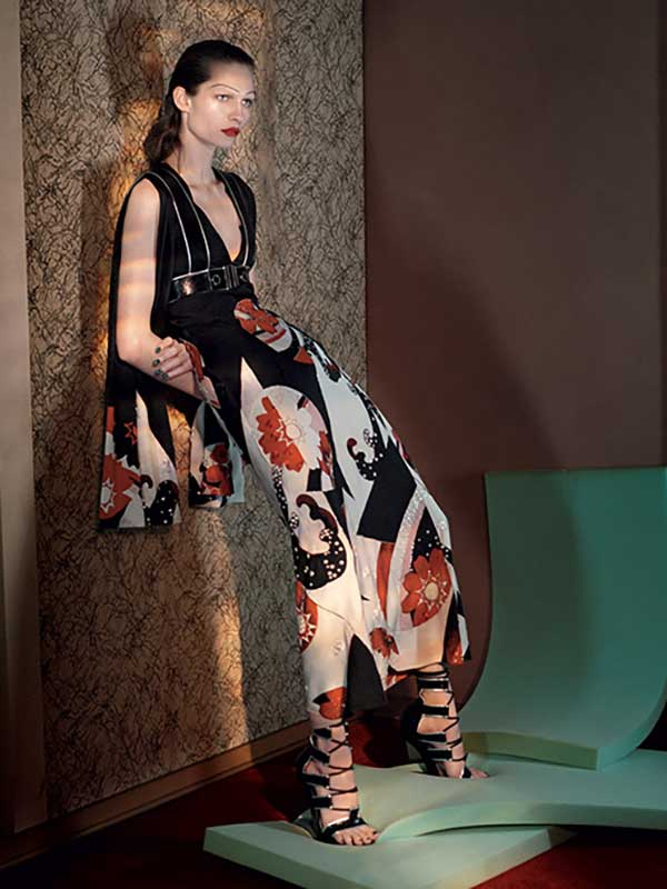 Alexander McQueen SS15 Campaign by David Sims
