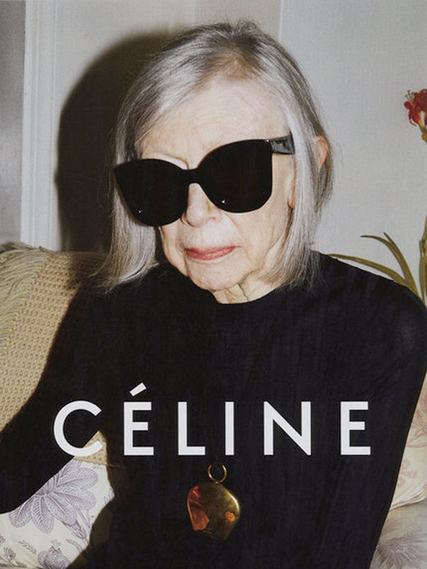 Joan Didion Is the New Face of Céline