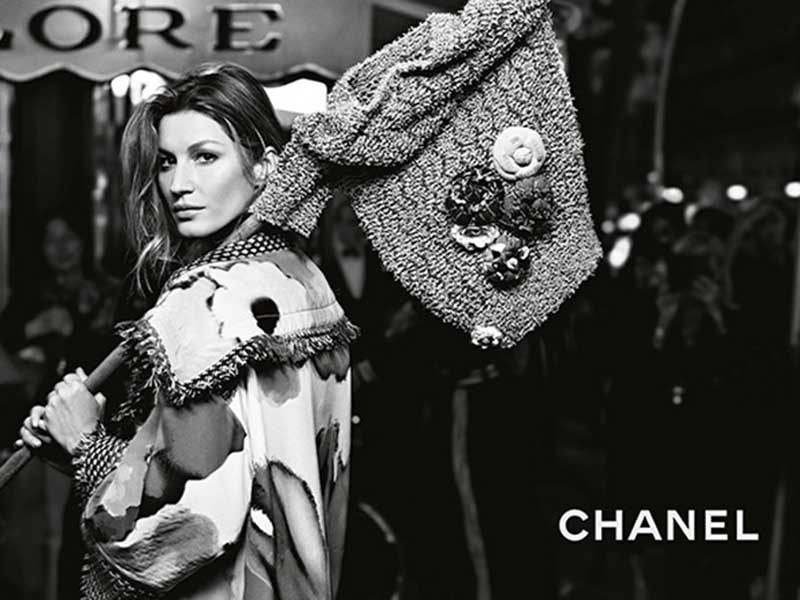 Gisele Bundchen for CHANEL S/S 2015 Campaign by Karl Lagerfeld
