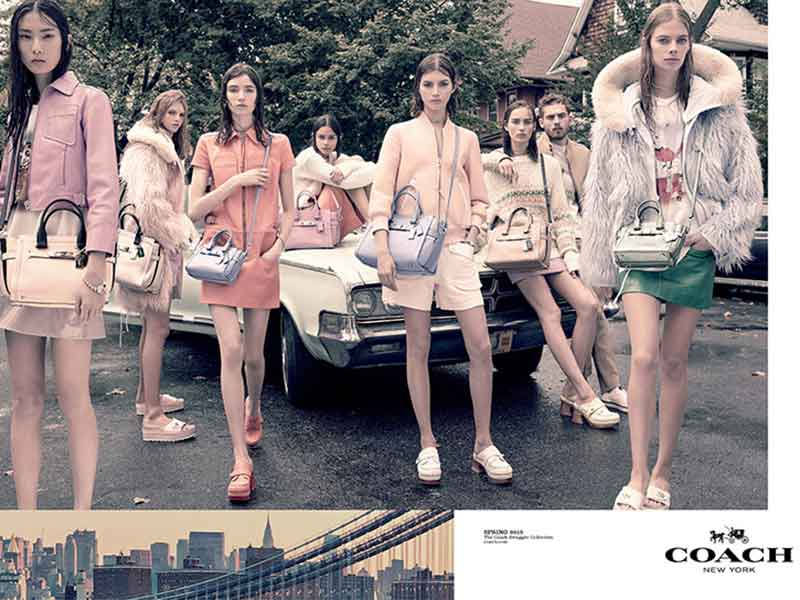 Coach SS15 Campaign by Steven Meisel
