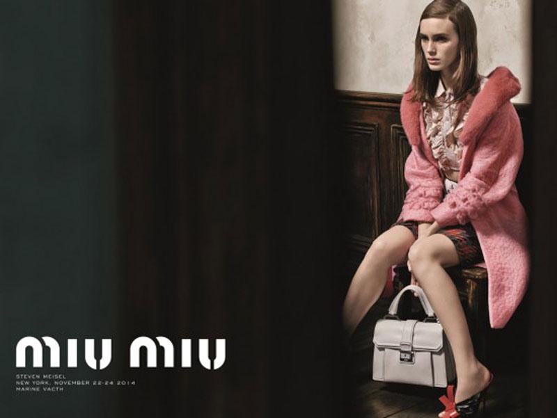 Miu Miu S/S 15 Campaign by Steven Meisel