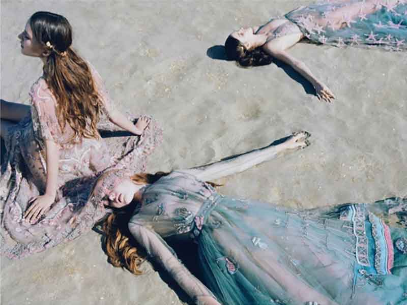 Valentino  SS15 Campaign by Jamie Hawkesworth