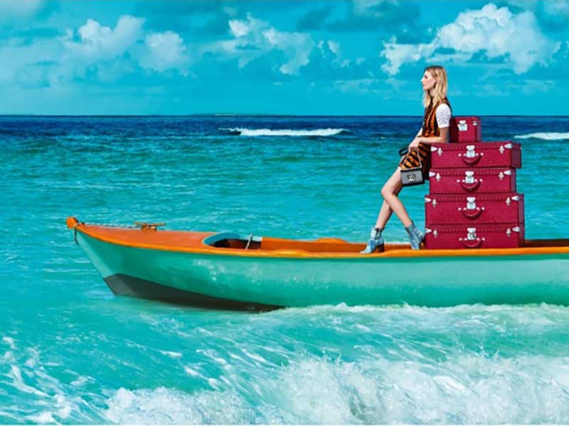Louis Vuitton Spirit of Travel Campaign by Patrick Demarchelier