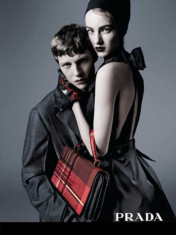 Prada pre-fall 2015 Campaign by Steven Meisel
