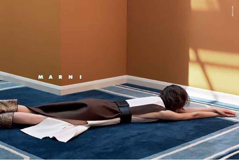 Marni FW15 Campaign by Jackie Nickerson