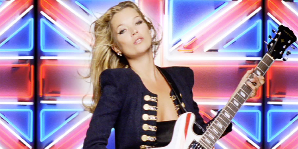 Rimmel London. Kate Moss Film