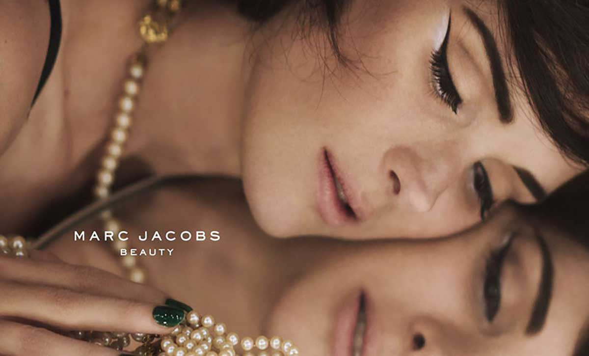 Winona Ryder for Marc Jacobs Beauty 2015 Campaign