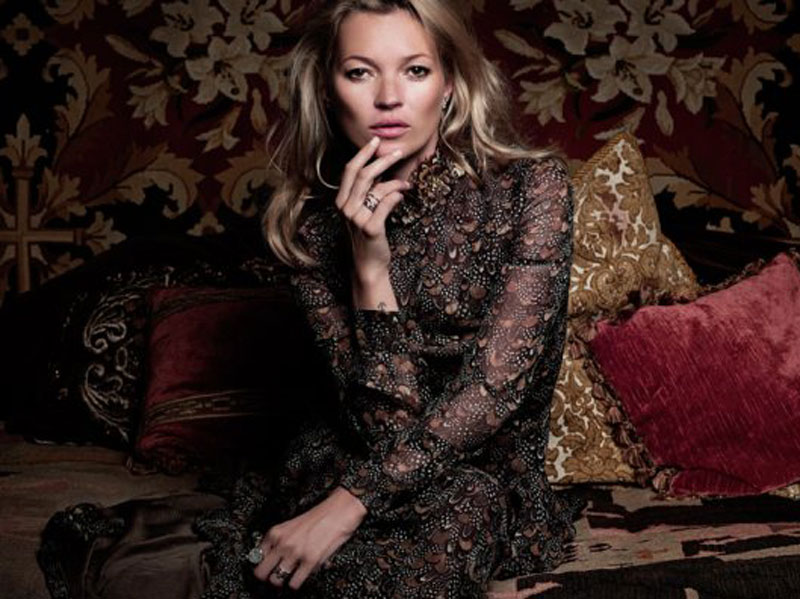 Kate Moss for Madame Figaro Magazine by Sonia Sieff