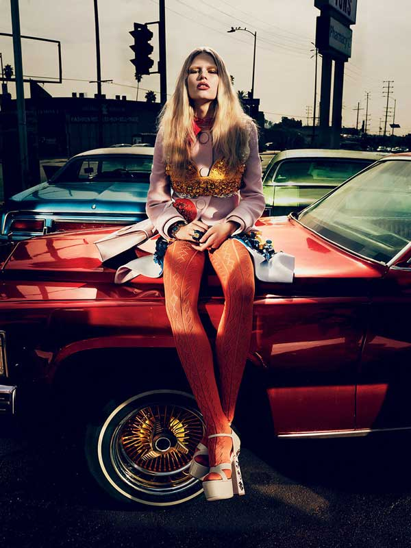 Anna Luisa Ewers by Mikael Jansson for Interview Magazine March 2014