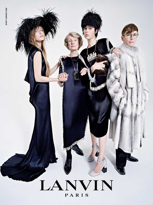 Edie Campbell for Lanvin FW14 by Tim Walker