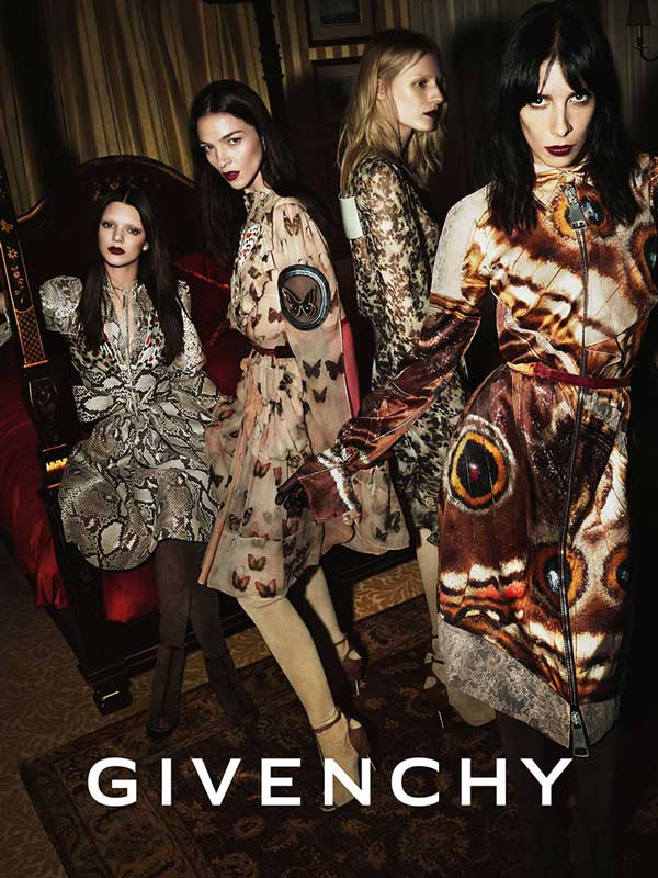 Givenchy FW14 Campaign by Mert & Marcus