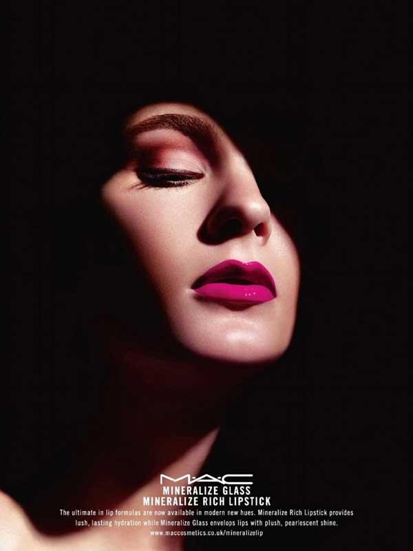 "MAC Cosmetics. ""Mineralize"" Campaign"