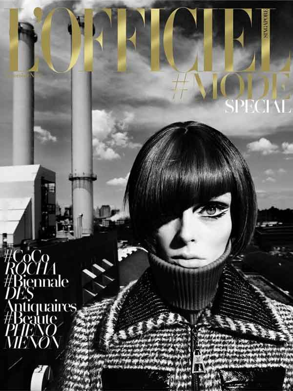 Coco Rocha for L'officiel Singapore by Chuando & Frey