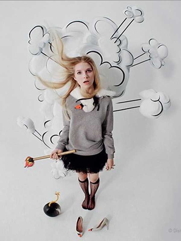 RED Valentino FW14 Campaign by Tim Walker