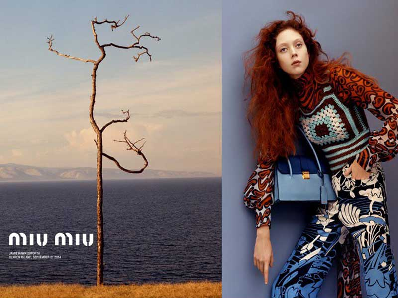 Miu Miu Resort 2015 Campaign by Jamie Hawkesworth