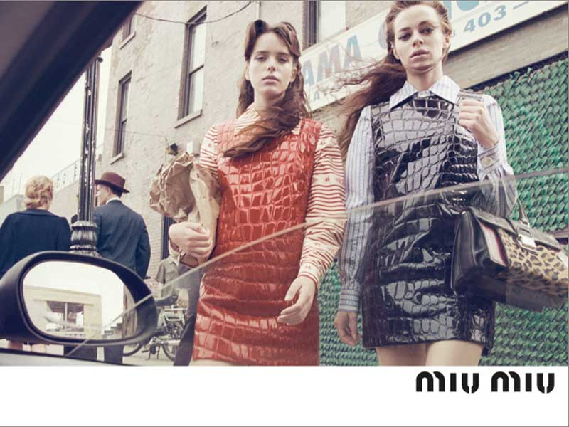 Miu Miu AW15 Campaign by Steven Meisel