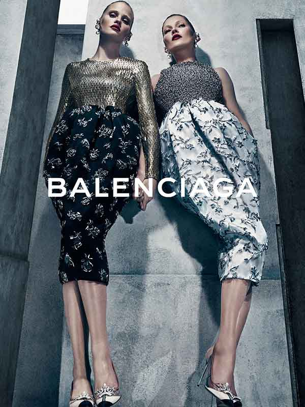 Balenciaga AW15 campaign by Steven Klein