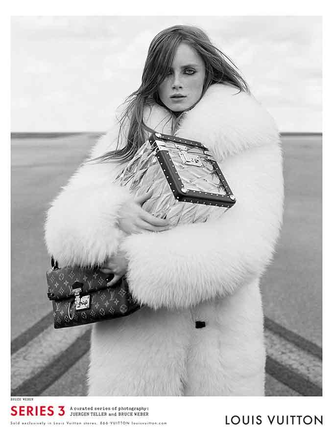 Louis Vuitton FW15 Campaign by Nicolas Ghesquiere