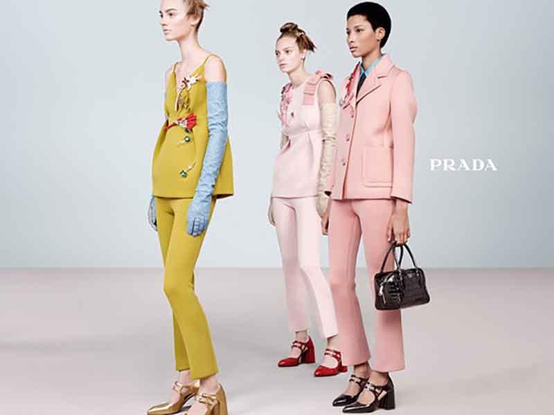 Prada FW15 Campaign by Steven Meisel